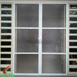 Cửa lưới chống muỗi dạng lùa Sài Gòn