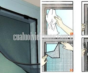 Cửa lưới chống muỗi tại Tỉnh Tiền Giang