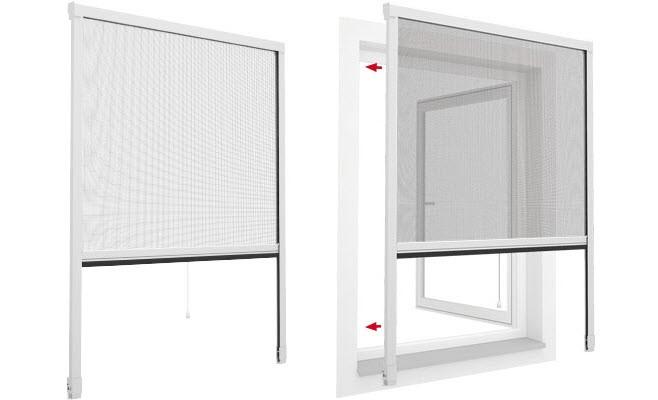Có thể lắp đặt cửa lưới chống muỗi ở cửa ra và cửa sổ tùy theo nhu cầu, điều kiện của bạn