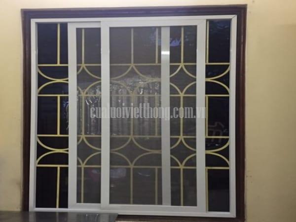 Cửa sổ cũng có thể gắng được loại cửa lưới chống muỗi lùa hoặc trượt này nhé
